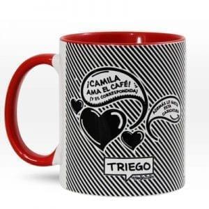 "Mug Personalizable ""Amo el café"""
