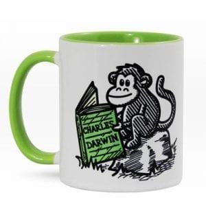 Mug Cerámica - Darwin