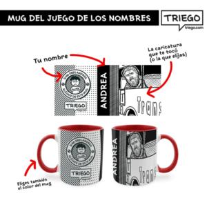 """Mug Personalizable de """"El Juego de los nombres"""""""